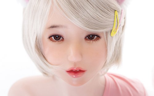 Doll Sweet DS-145 Plus body style with ›Ling‹ head - silicone