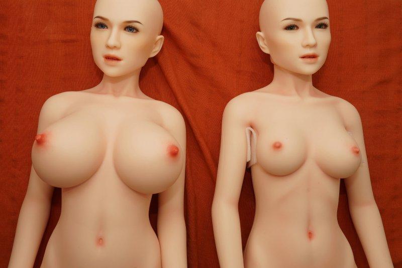 Gegenüberstellung Körperstil DS145 Plus (links) und DS145 (rechts)