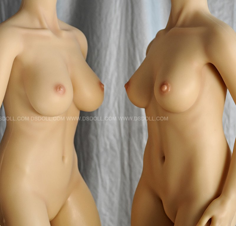 Doll Sweet 160 cm and 161 cm bodies side by side (2013)