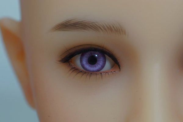 Purple eye color