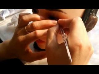 Embedded thumbnail for Repairing the eylashes of a silicone doll by Doll Sweet